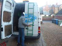Ford Transit van rear door ladder