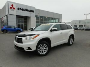 2014 Toyota Highlander LE**4X4/AWD**8 PASS**BI-ZONE**BLUETOOTH*