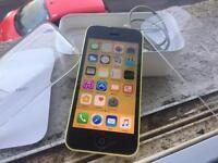 iPhone 5c 32gb yellow Vodafone Network