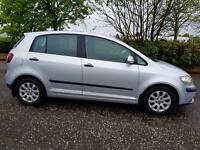 VOLKSWAGEN GOLF PLUS 1.9 SE TDI PD 5dr Low Miles, Long Mot & Warranted A Very Nice Car (silver) 2006