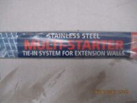 Expamet stainless steel waller starter kit £5