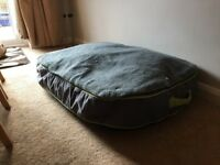Bed for dog 3 Peaks large 95 x 65 cm from Pets At Home, Outdoor Yellow Snowdon Gusset Matress £30