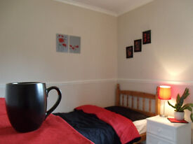 Looking for a home rather than a room? 3 single rooms available on quiet street