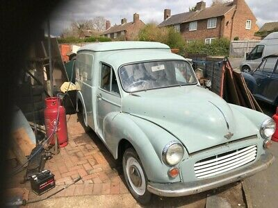 Morris Minor Van, Un-finished project