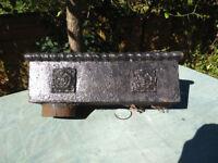 Victorian Cast Iron Hopper
