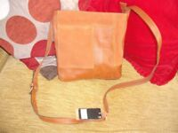 Next New Leather and Suede Handbag (still with tag)