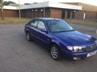 2001 Toyota Corolla 1.4 5 door 12 months mot