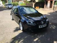 VOLKSWAGEN GOLF GT TDI 140 DPF/FULLY LOADED-HEATED MIRRORS-CRUISE CONTROL-2008-PART EXCHANGE