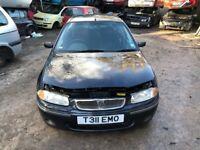 1999 Rover 124i L 5dr Hatchback 1.4L Petrol Black BREAKING FOR SPARES