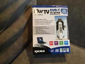 PlusTV DVB-T USB stick.