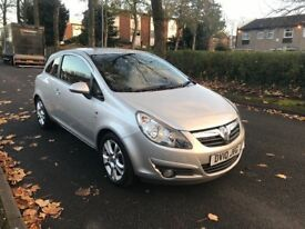 Vauxhall Corsa sxi 12 Months Mot Full Service History one former keeper