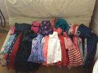 Girls clothes bundle 4-5 years 60 items
