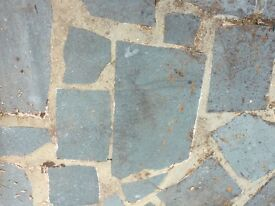 Free slate crazy paving, collection only