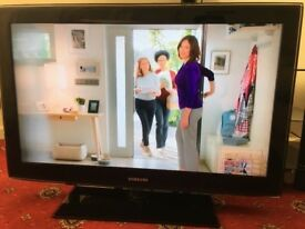 """NEW CONDITION* SAMSUNG 37"""" INCHES LCD TV FULL HD 1080P+ FREEVIEW INBUILT CHANNELS"""