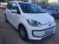 Volkswagen UP! 1.0 BlueMotion Tech Move Up 5dr£3,995 p/x welcome FREE 12MONTHS WARRANTY,NEW MOT