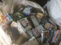 VHS VIDEO TAPE BUNDLE JOB LOT Approx 800, Car Boot