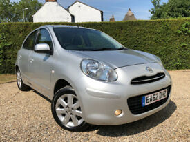 Nissan Micra Acenta. Full Nissan Service History. Excellent Condition. Bluetooth Handsfree.