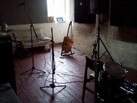Practice/ rehearsal space available