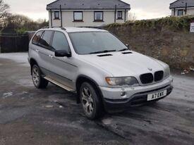 CHEAP BMW X5 3L DIESEL AUTO LOW MILES - quick sale