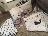 Full mothercare whale bay bedroom set