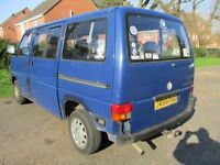 92J VOLKSWAGEN TRANSPORTER CARAVELLE 2.5 CL 7 SEAT MINIBUS FULL MOT LADY OWNED LOVELY PX SWAPS