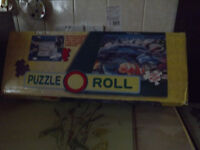 Jig saw puzzle roll