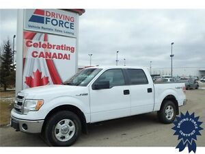 2014 Ford F-150 XLT Super Crew 4x4 - 71,956 KMs, 5.0L V8 Gas