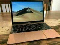 *REDUCED*GOLD 12' Apple MacBook Retina Core M 1.1Ghz 8GB 250GB SSD Adobe 2021 Photoshop Lightroom