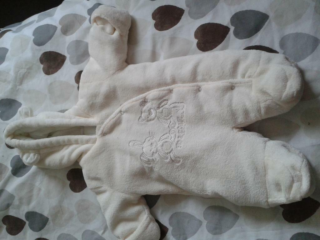 0-3 month unisex baby all in one