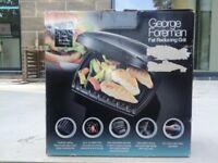BNIB George Foreman fat reducing grill £10