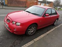 QUICK SALE MG ZT MANUAL SALOON MUST GO!