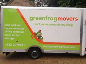 Affordable Man& Van / House and office removals / Furniture deliveries / Crate rental service