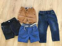 Boys short and jean 18- 24 months