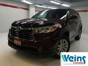 2014 Toyota Highlander LE , 1 OWNER TRADE , NO ACCIDENTS