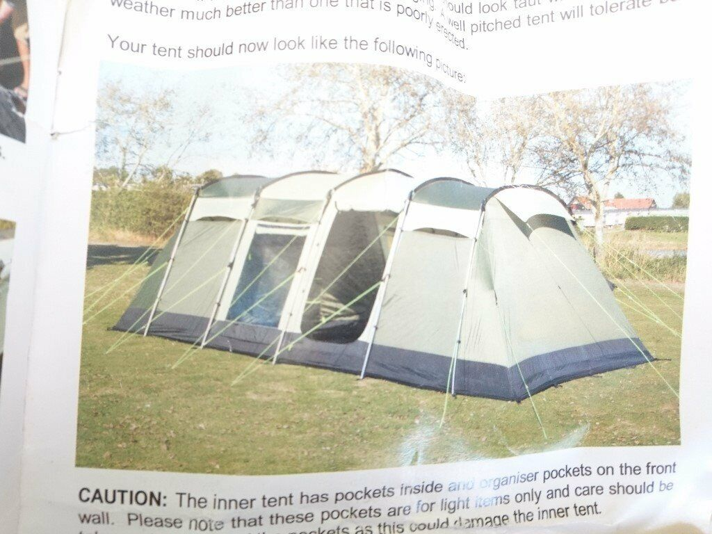reputable site be35d 75eb4 Kempa Pendine 8 Tent, 8 man, used | in Barrhead, Glasgow | Gumtree