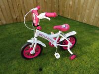 Hello Kitty first bike - suitable for age 2 - 4