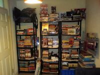 500 Books and items *great for ebayer or booty