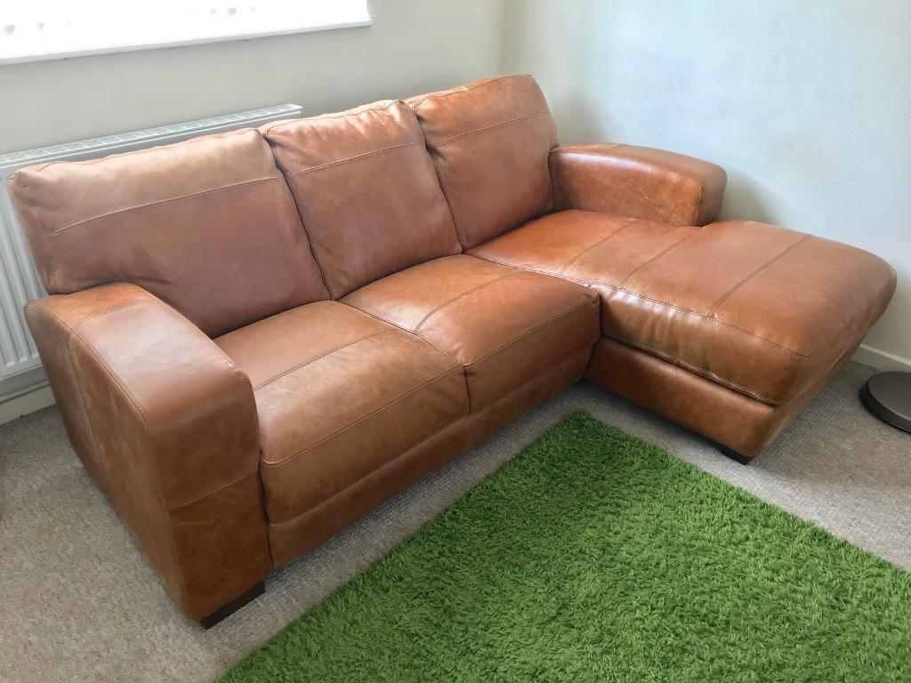 Fine Dfs Tan Leather 3 Seater Corner Sofa L Shape With Matching Chair Cesar Range In Hull East Yorkshire Gumtree Creativecarmelina Interior Chair Design Creativecarmelinacom