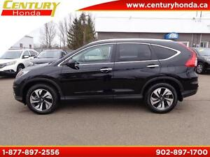 2016 Honda CR-V Touring WARRANTY TO 100K