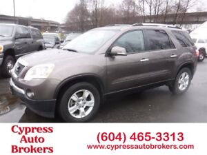 2010 GMC Acadia SLE (Blue-tooth, Roof & 3RD Row Seating)