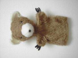 Teddy bear hand puppet. Vintage/collectable