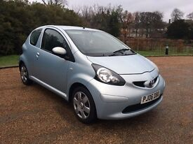 Toyota aygo 1.0 litre manual petrol 2006 very clean car drives well.............£1275