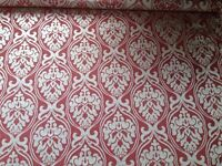 2.9m Designer Remnant Fabric for Curtains/ upholstery/ upcycling/ sewing/ crafts