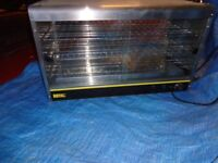 hot food cabinet twin deck only used for 2 month still like new suit cafe or takeaway /catering van