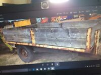 tipping trailer single axle