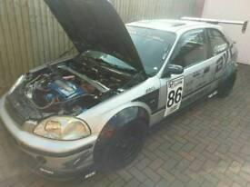 Honda civic, ej ek b18 turbo
