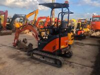 Mini Digger for hire with operator