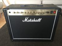 Marshall DSL40C Valve Amp with official Marshall footswitch and cover