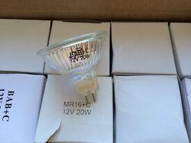MR16 20W 12V lamps x 20 nos