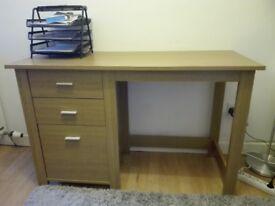 Desk with 3 drawers (120cm x 50cm)